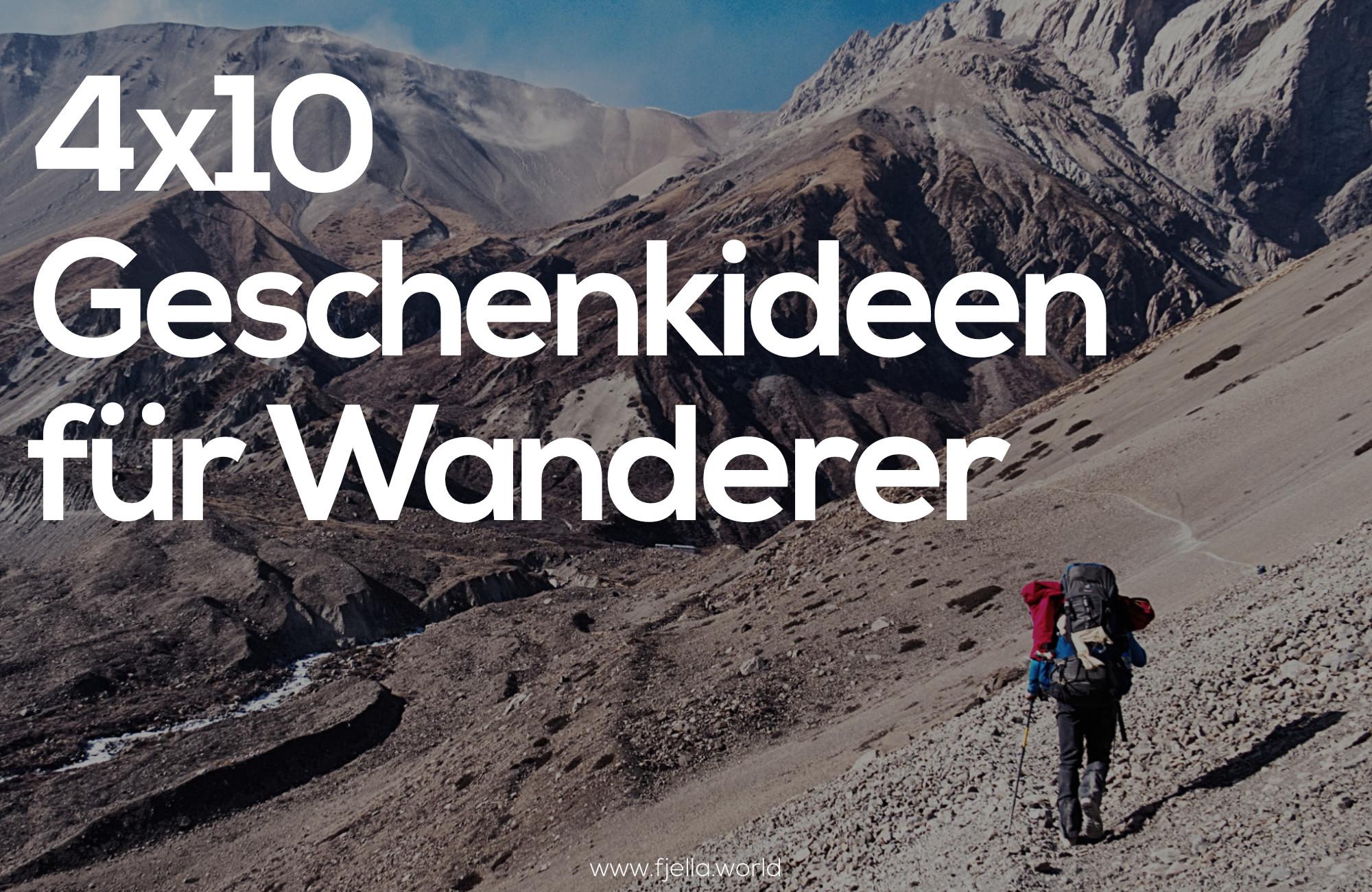 Geschenke Für Wanderer  4x10 Geschenke für Wanderer Bergliebhaber und Outdoorfans