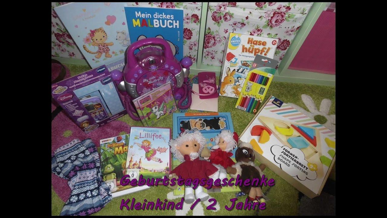 Geschenke Mädchen 2 Jahre  Pia s Geschenke 2 Geburtstag Kleinkind