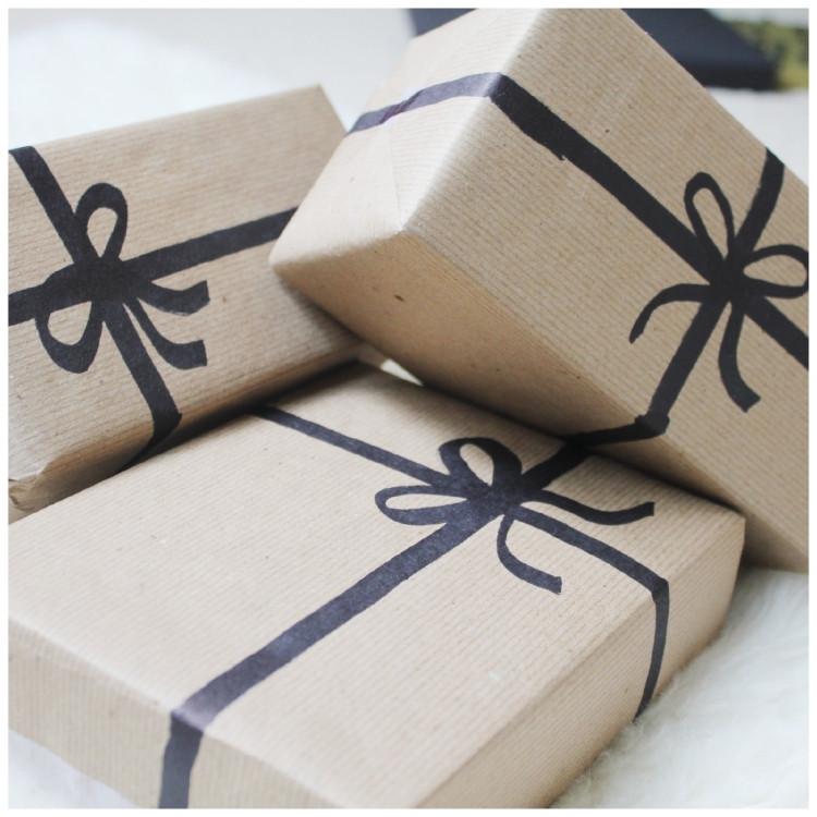 Geschenke Malen  Geschenke verpacken mal anders 40 Ideen und Anleitungen