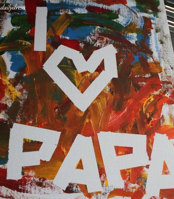 Geschenke Malen  Die 25 besten Ideen zu Vatertag auf Pinterest
