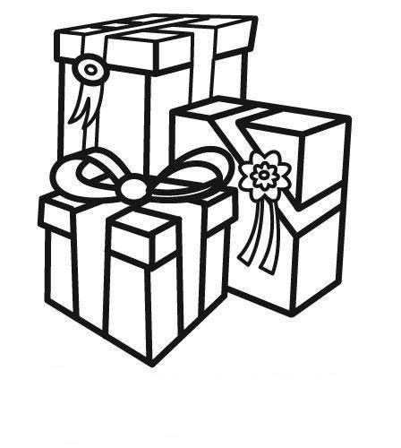 Geschenke Malen  Ausmalbild Geburtstag Geschenke zum Geburtstag kostenlos