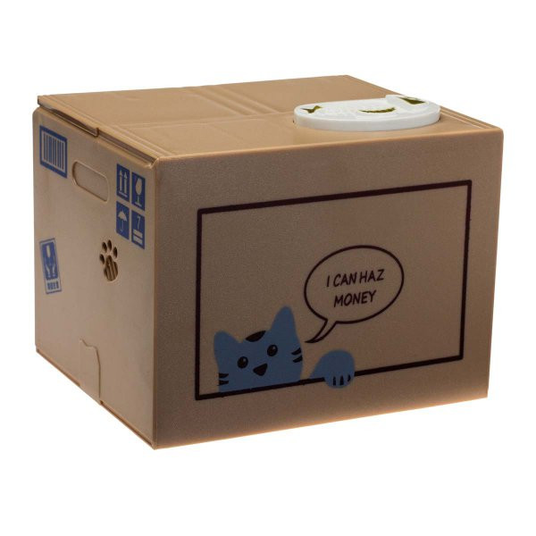 Geschenke-Online  Katzenspardose I can haz money online kaufen