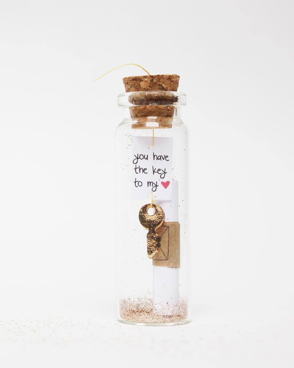 Geschenke Online Verschicken  Du hast den Schlüssel zu meinem ️In ser Flaschenpost