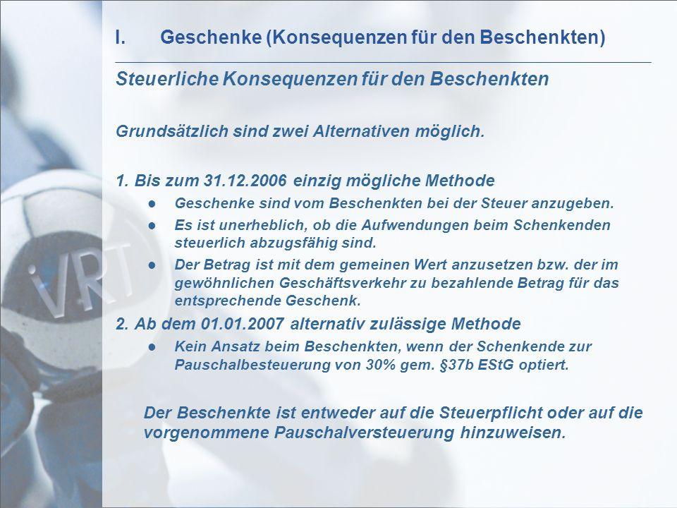 Geschenke Steuerlich Abzugsfähig  VRT Linzbach Löcherbach & Partner ppt video online