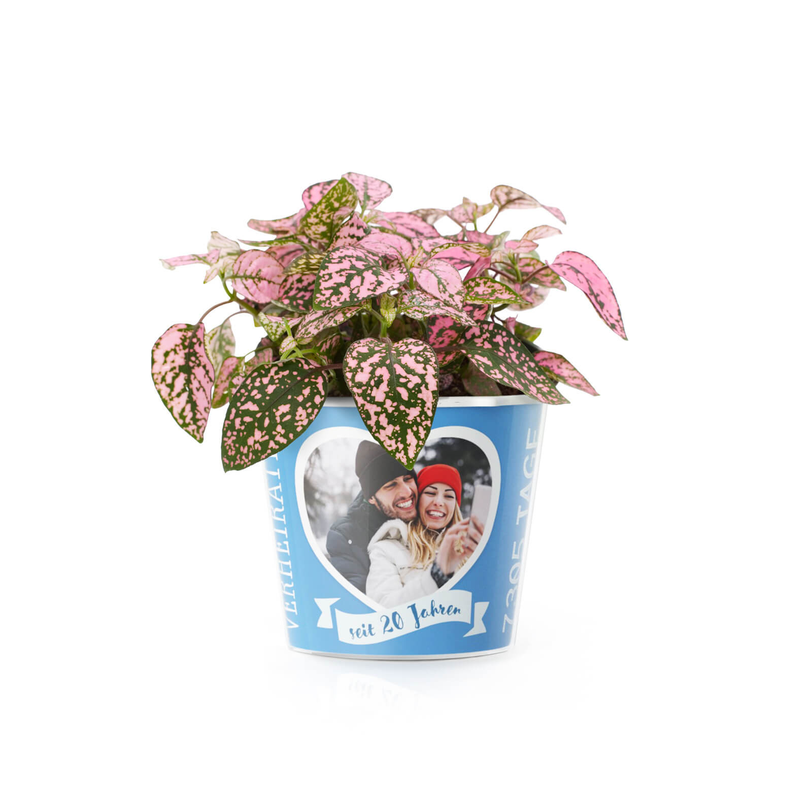 Geschenke Zum 20 Hochzeitstag  20 Hochzeitstag Porzellan Hochzeit – Blumentopf von