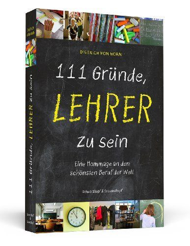 """Geschenke Zum Abschluss  Buch """"111 Gründe Lehrer zu sein"""""""