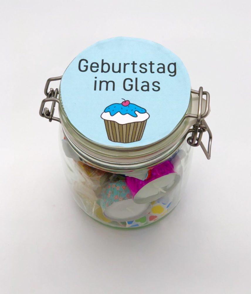 Geschenke Zum Geburtstag Selber Machen  DIY Geschenke zum Geburtstag einfache Geschenkideen im Glas