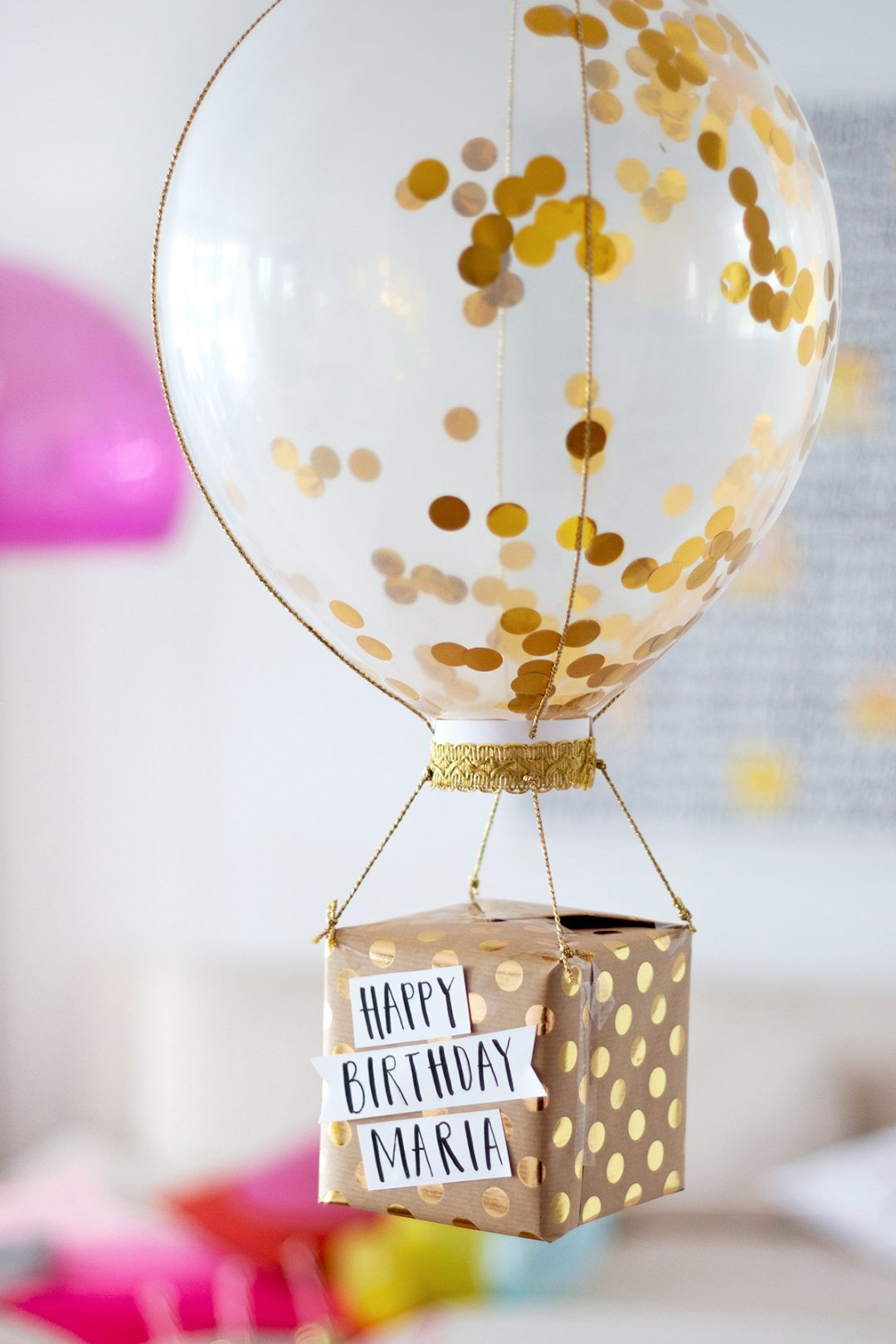 Geschenke Zum Geburtstag Selber Machen  Geburtstagsgeschenke selber machen Drei DIY Ideen •