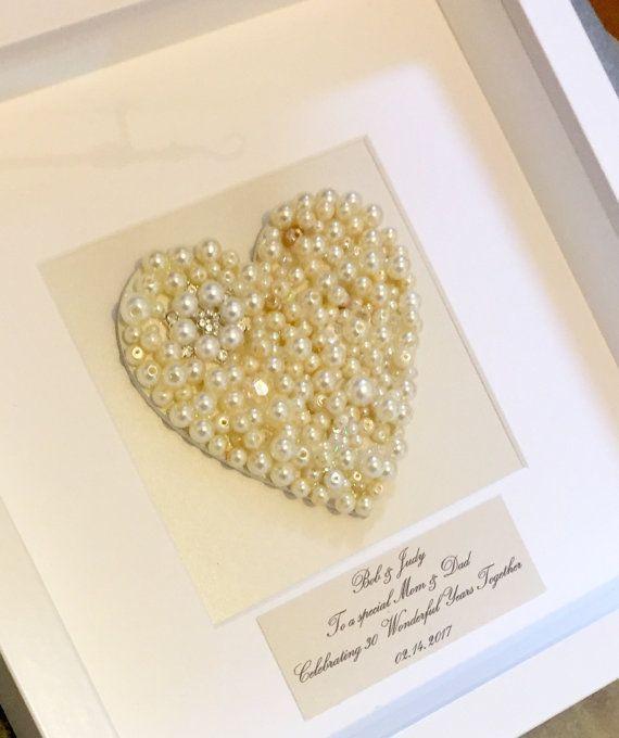 Geschenke Zur Perlenhochzeit  Ein schönes selbstgemachtes Geschenk zum 30 Hochzeitstag