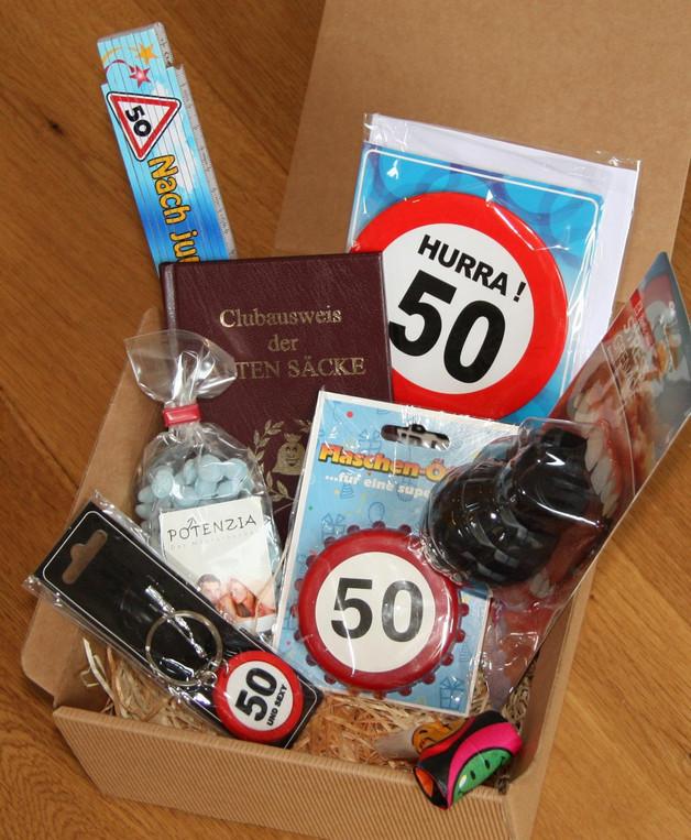 Geschenkideen 50 Geburtstag  Geschenkideen Materialabteilung 5