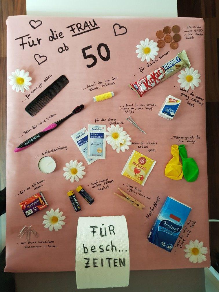 Geschenkideen 50 Geburtstag  Für Frau ab 50 Für Frau ab 50