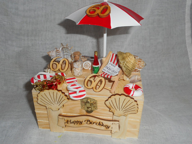 Geschenkideen Frauen 60  Geschenke für Frauen Geschenkbox Geldgeschenk 60