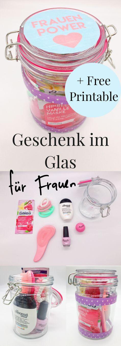 Geschenkideen Für Beste Freundin Zum Geburtstag  DIY Geschenke im Glas selber machen