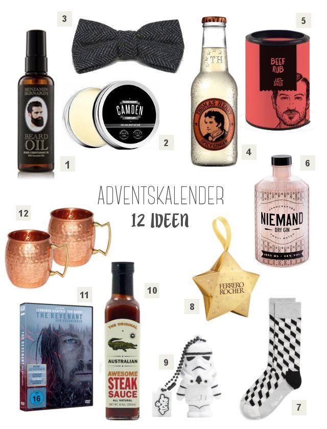 Geschenkideen Für Den Mann  Die besten 25 Adventskalender für männer Ideen auf