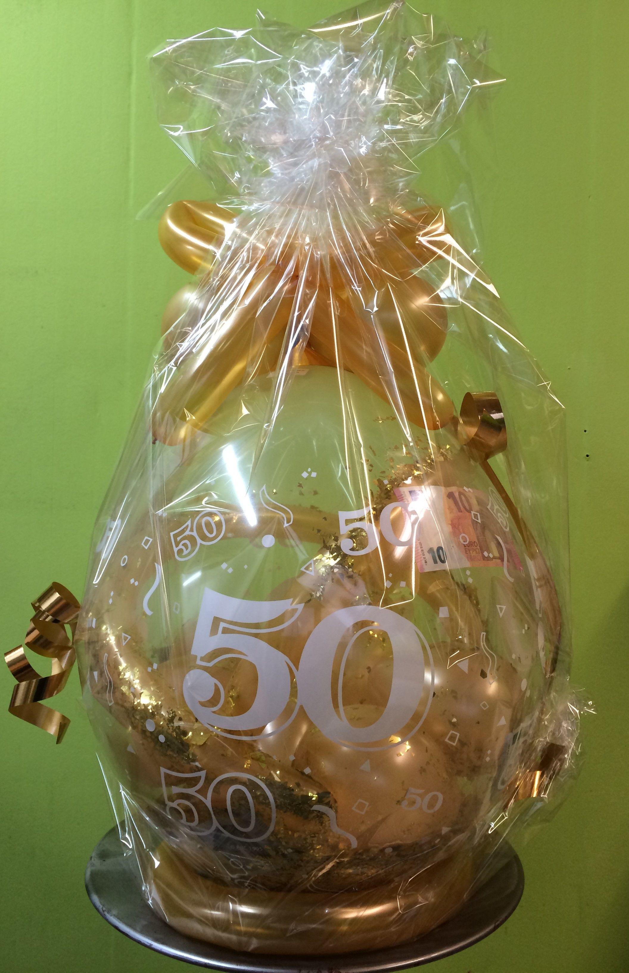 Geschenkideen Goldene Hochzeit  Geschenkballon Galerie Ballongeschenke