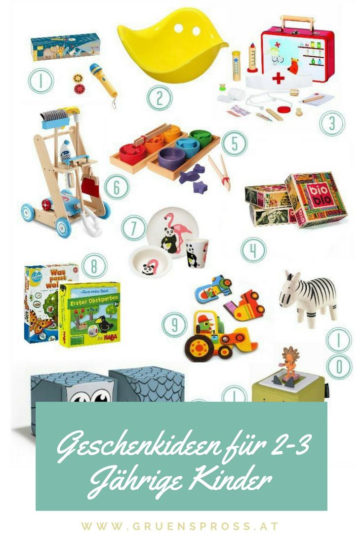 Geschenkideen Kind  Geschenkideen für 2 3 Jährige Kinder Gewinnspiel Hoxbox