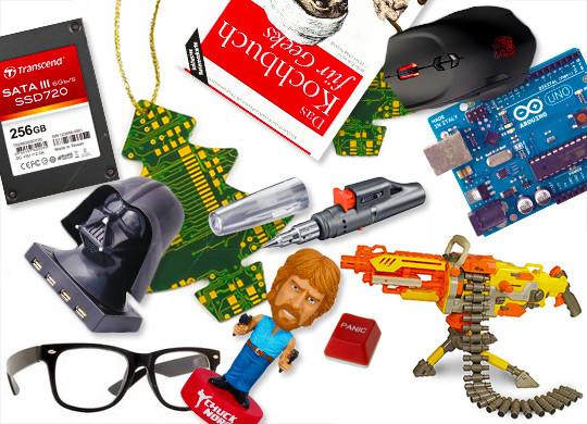 Geschenkideen Männer Weihnachten  Geschenkideen für Männer Geeks & Nerds Weihnachten l