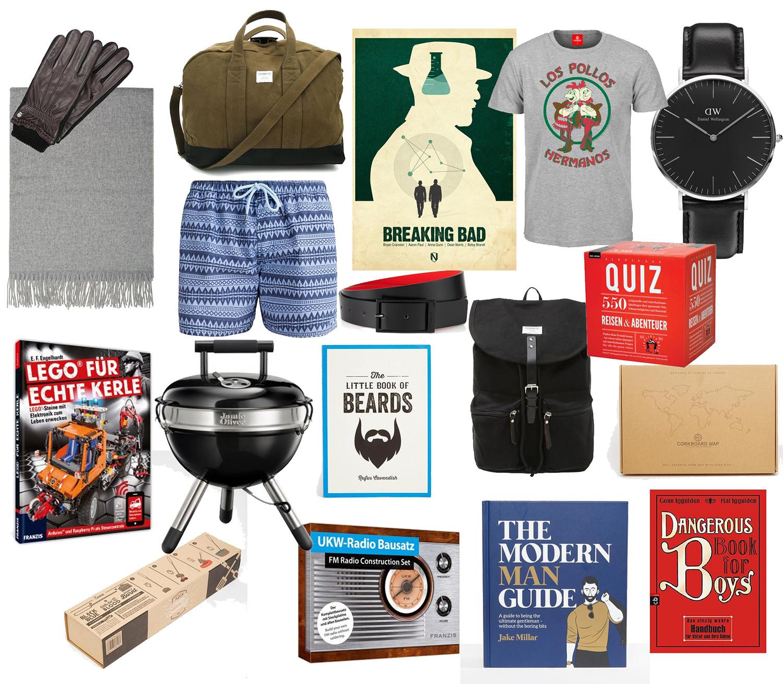 Geschenkideen Männer Weihnachten  Gift Guide Geschenkideen zu Weihnachten für Männer
