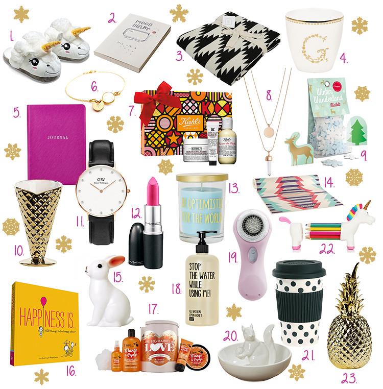 Geschenkideen Schwester  Inspiration Christmas Gift Guide – Geschenkideen für