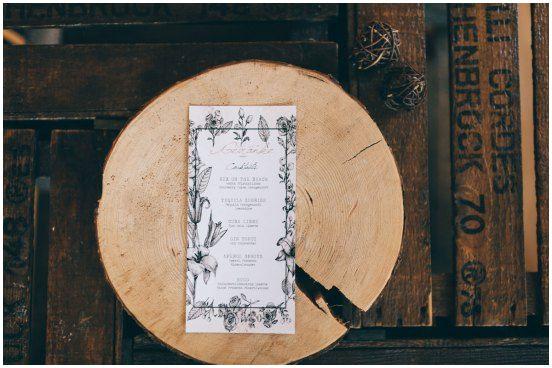 Getränkekarte Hochzeit Selber Machen  Getränkekarte Hochzeit Selber Machen Neu Die Besten 25