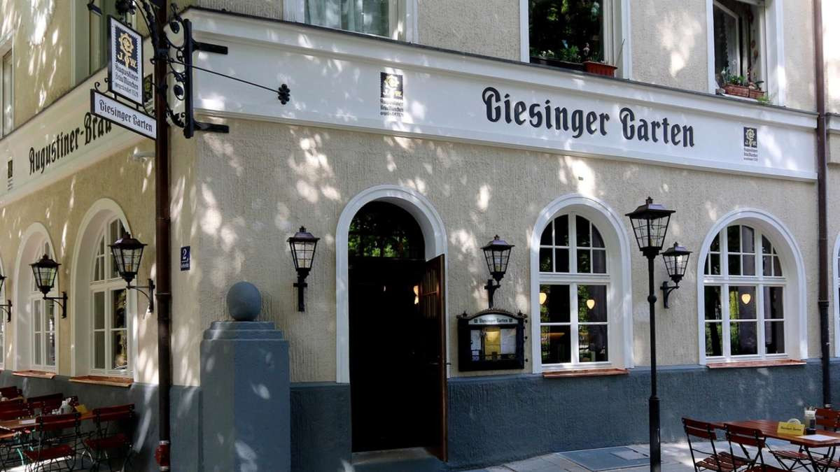 Giesinger Garten  Giesinger Garten in der Gerhardstraße und das Seepara s