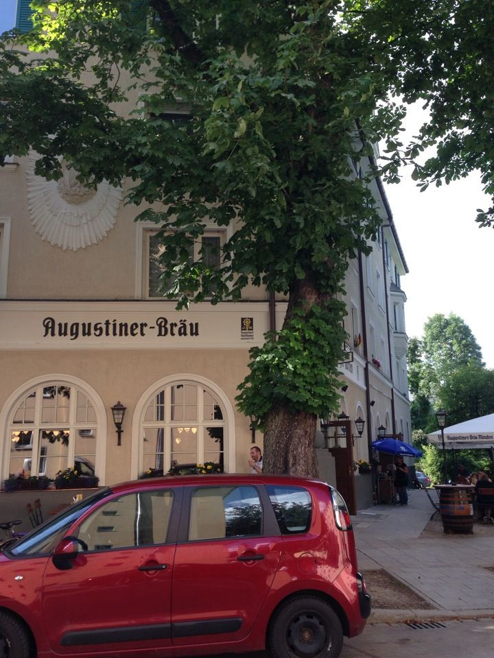 Giesinger Garten  Giesinger Garten in München Bayern Di und Do Augustiner