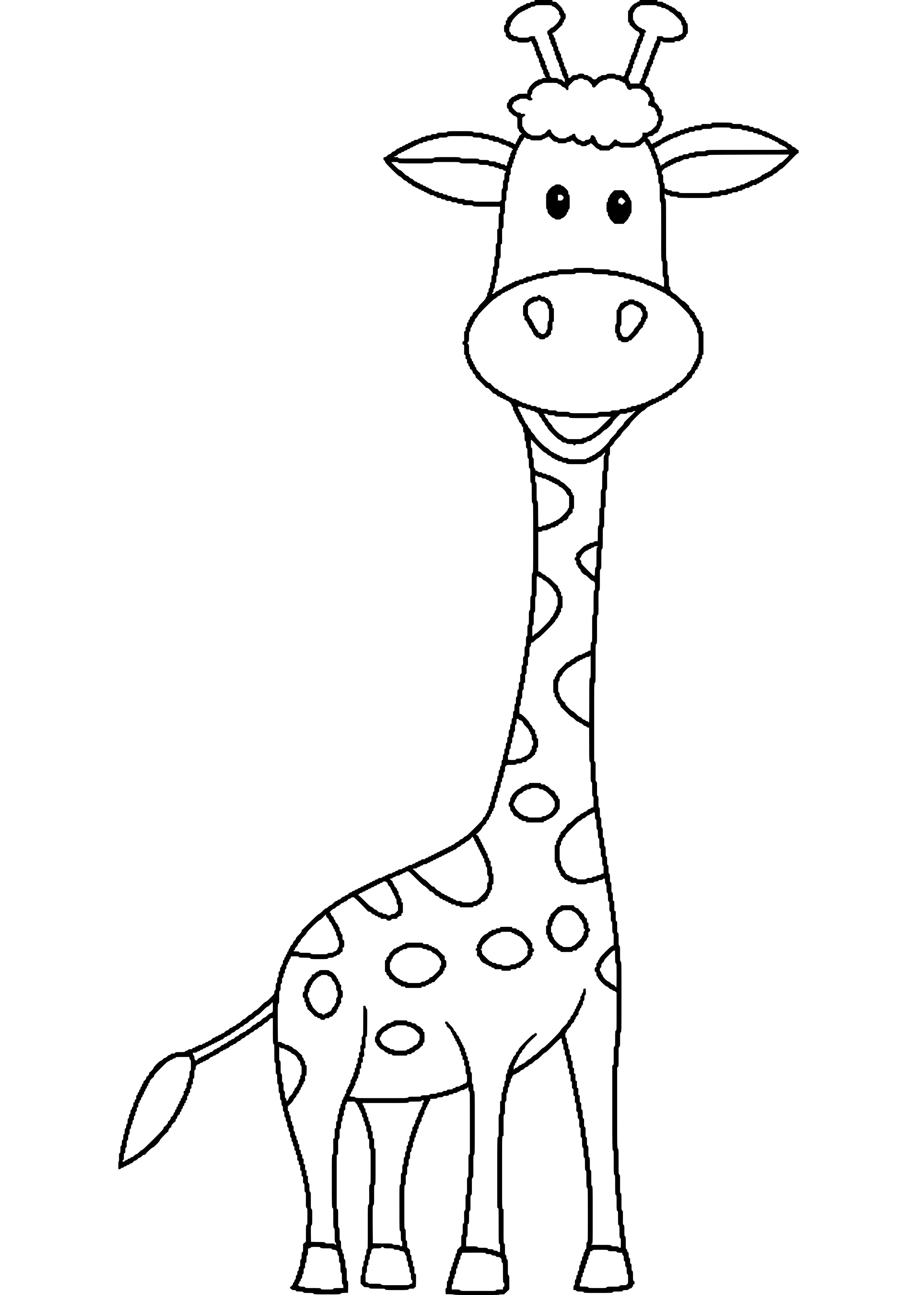 die 20 besten ideen für giraffe ausmalbilder  beste