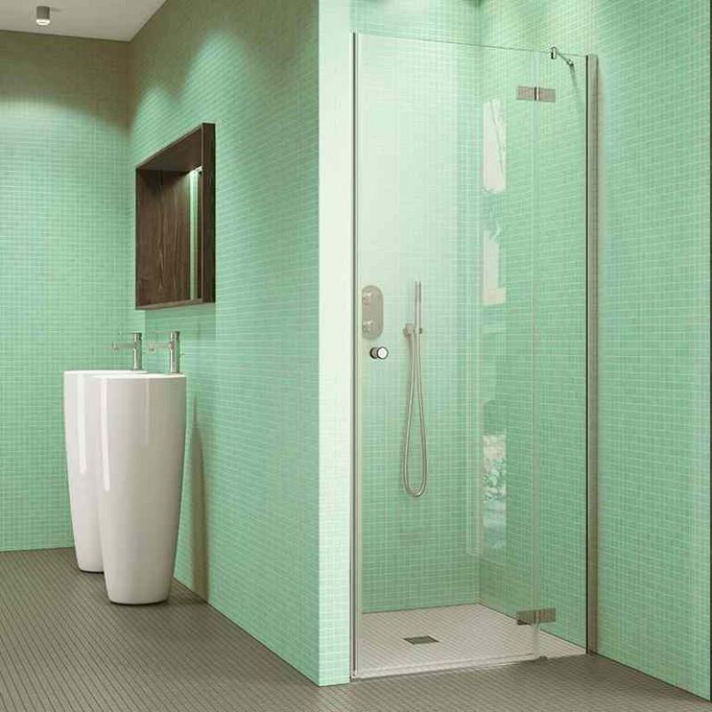 Glastür Dusche  Perla Duschkabinentür Glastür Dusche Nischentür
