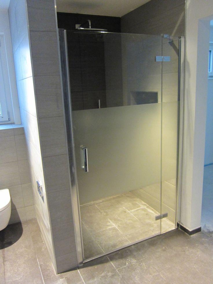 Glastür Dusche  Die besten 25 Glastür dusche Ideen auf Pinterest