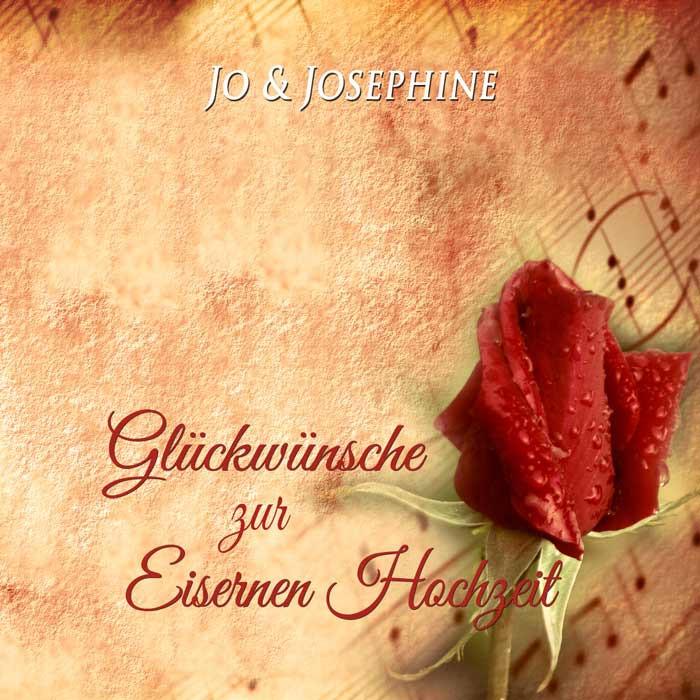Glückwünsche Zur Eisernen Hochzeit  Glückwünsche zur Eisernen Hochzeit Lied als MP3 oder CD