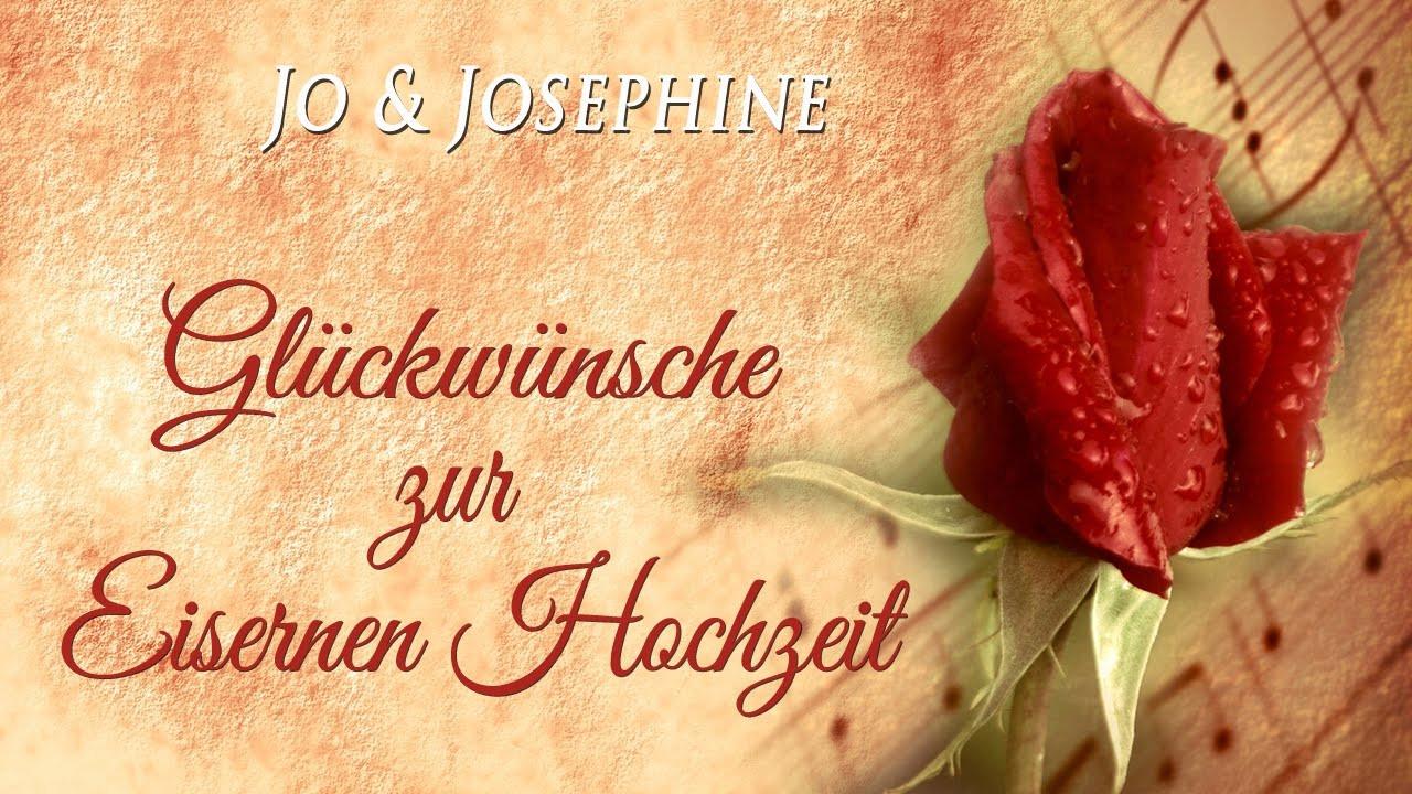 Glückwünsche Zur Eisernen Hochzeit  Glückwünsche zur Eisernen Hochzeit