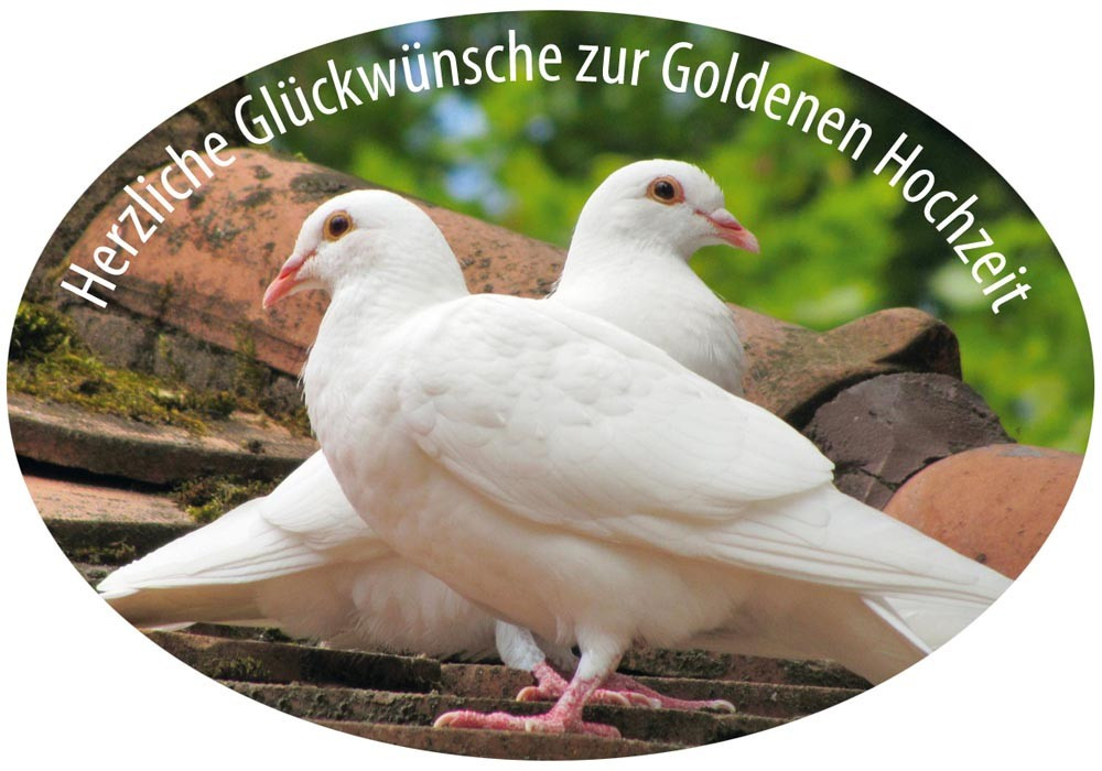 Glückwünsche Zur Goldenen Hochzeit  Grußaufkleber Herzliche Glückwünsche zur Goldenen Hochzeit 8