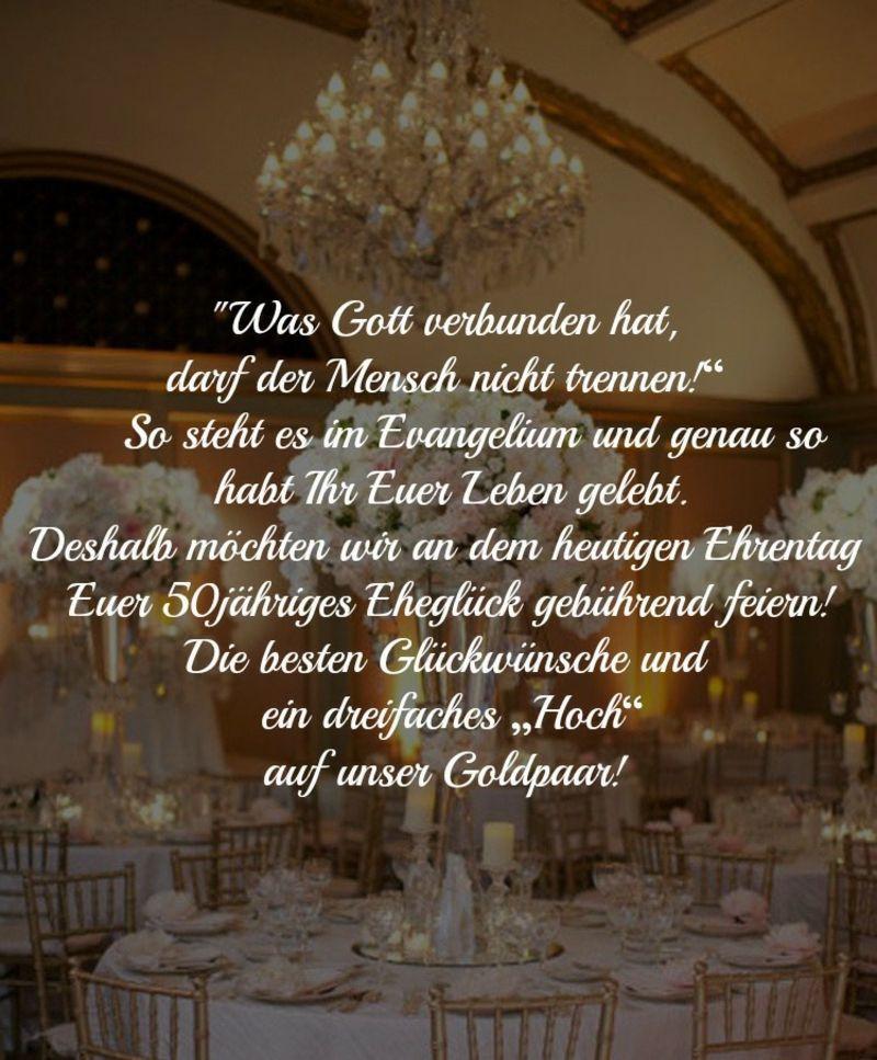 Glückwünsche Zur Goldenen Hochzeit  Glückwünsche und Sprüche für goldene Hochzeit der