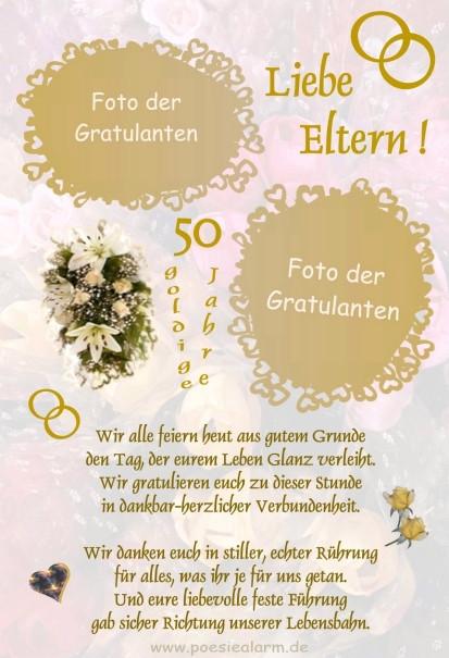 Glückwünsche Zur Hochzeit Nach Langer Wilder Ehe  Goldene Hochzeit