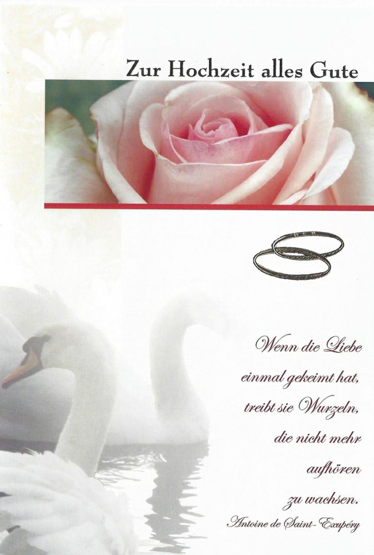 Glückwünsche Zur Kirchlichen Hochzeit  26 innige Glückwünsche zur Hochzeit Die Musik der Worte