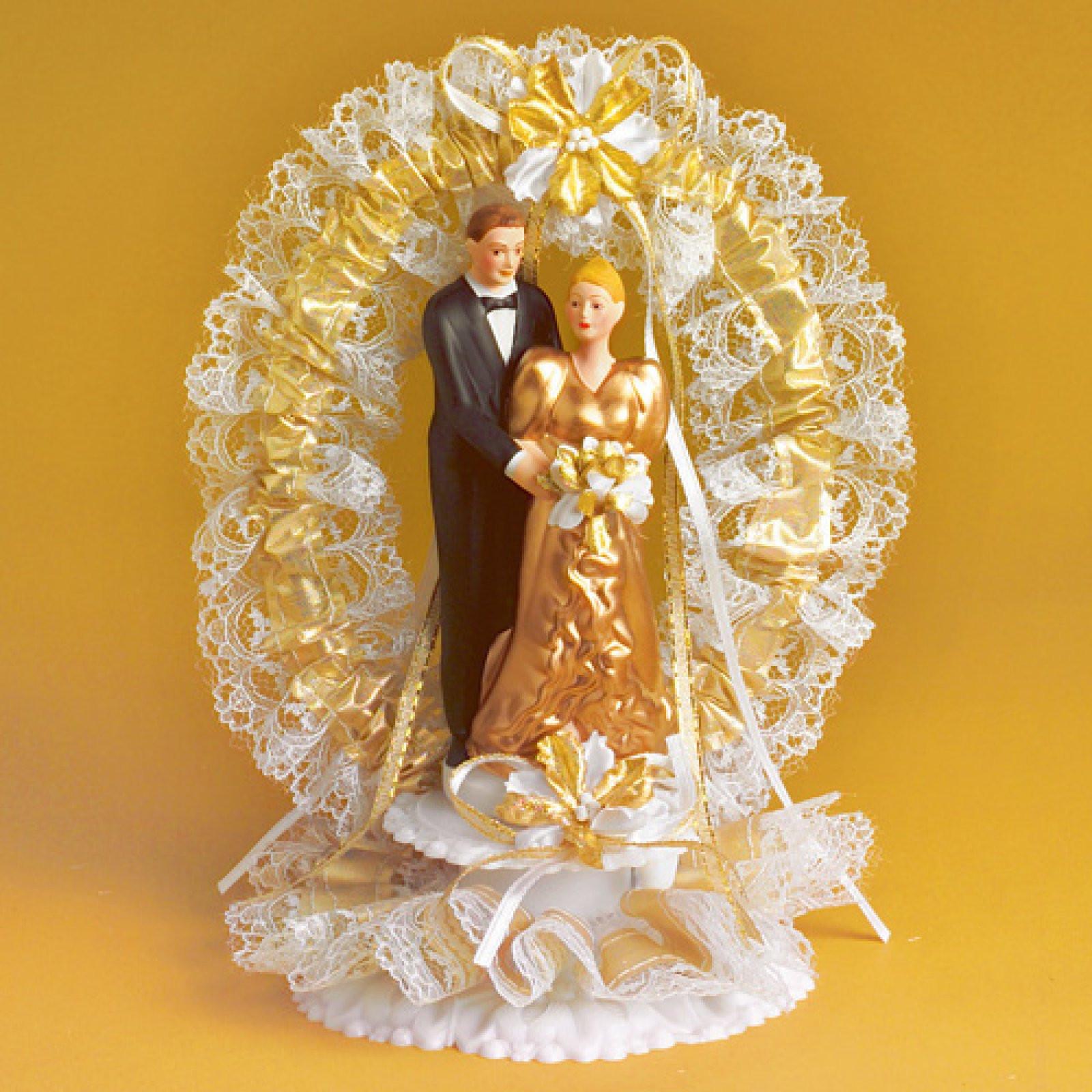 Goldenen Hochzeit  Brautpaar zur goldenen Hochzeit