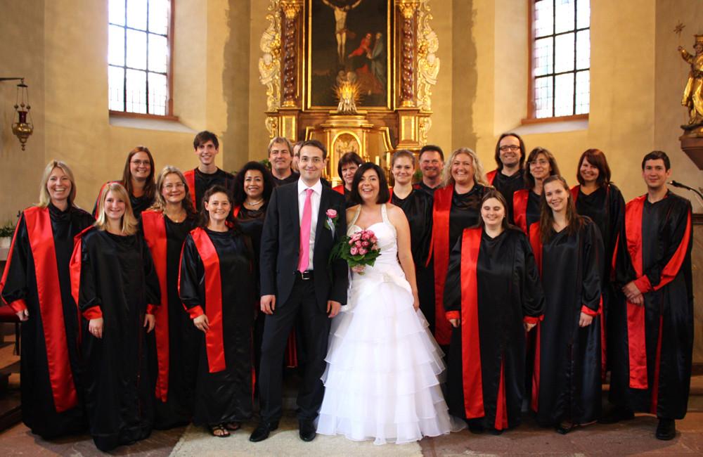 Gospelchor Hochzeit  Hochzeit