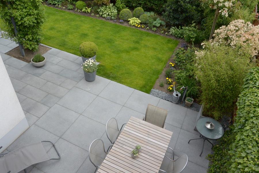 Granitplatten Terrasse  Terrasse Granitplatten Garten und Landschaftsbau Bowles