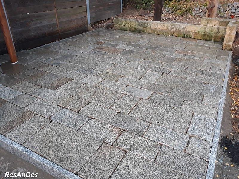 Granitplatten Terrasse  alte Granitplatten Pflaster kaufen