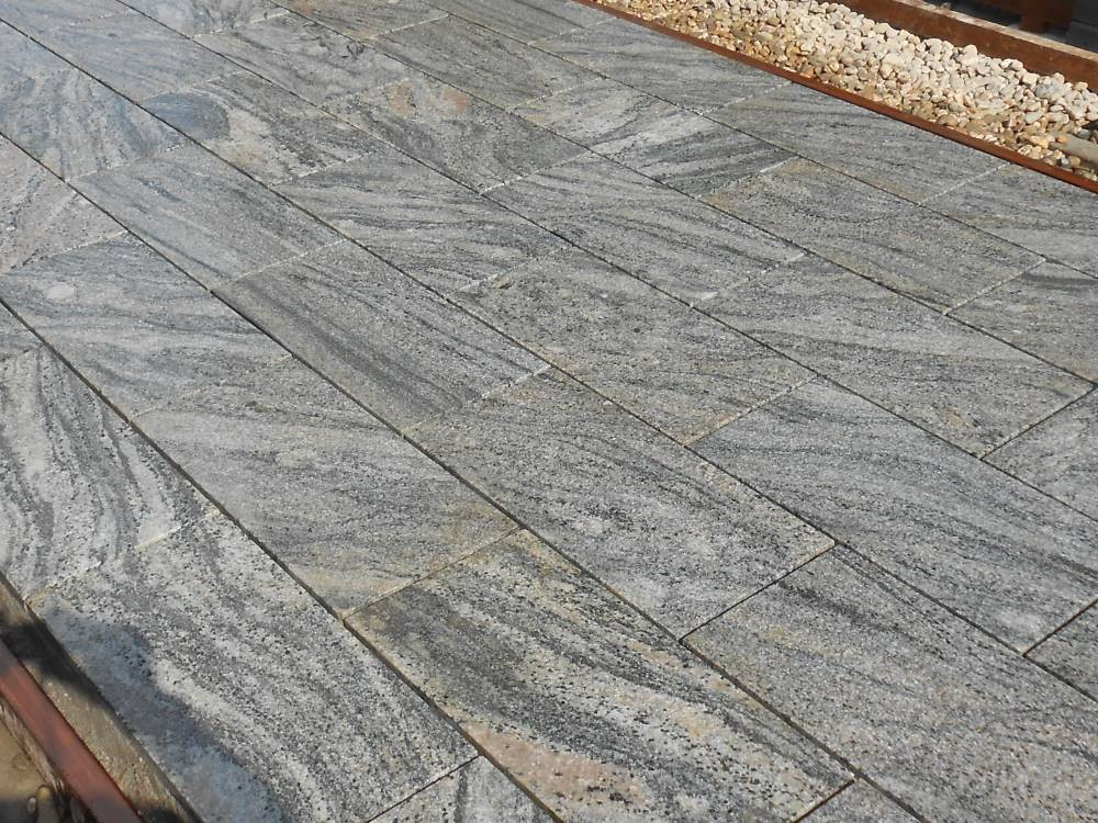 Granitplatten Terrasse  Kiruna Granitplatten Terrasse