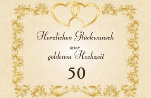 Gratulation Goldene Hochzeit  Goldene Hochzeit Sprüche Grüße und Glückwünsche