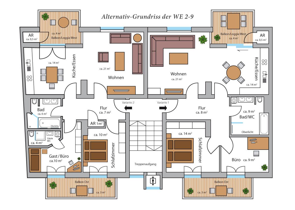 Grundriss Wohnung  Geräumige 2 Zimmer Wohnung Frankfurt Enkheim Ca 75 Qm Avec
