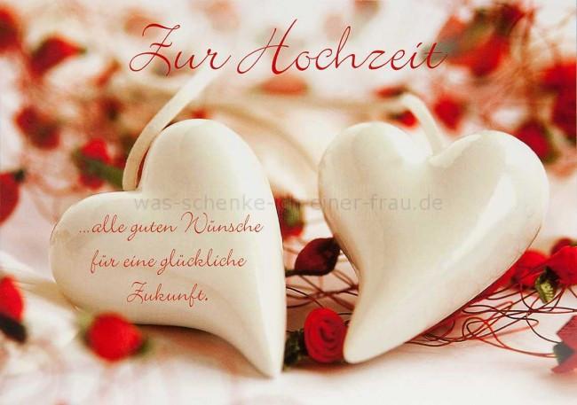 Gruß Zur Hochzeit  EigenArt Grußkarte Zur Hochzeit Serie for you