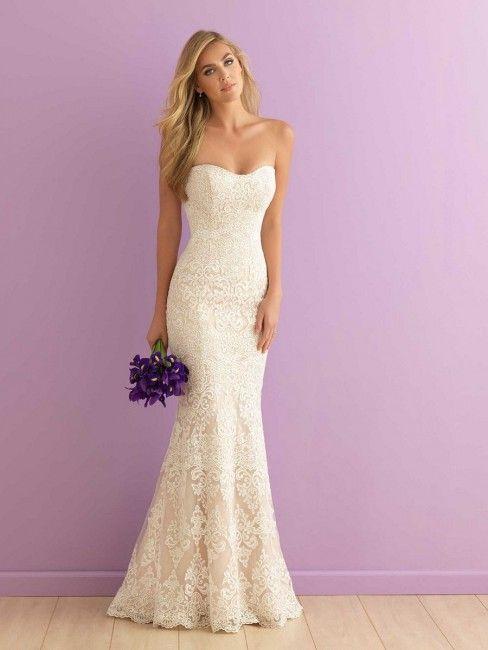 Günstig Hochzeit Feiern  Allure Bridals 2903 Wedding Dress