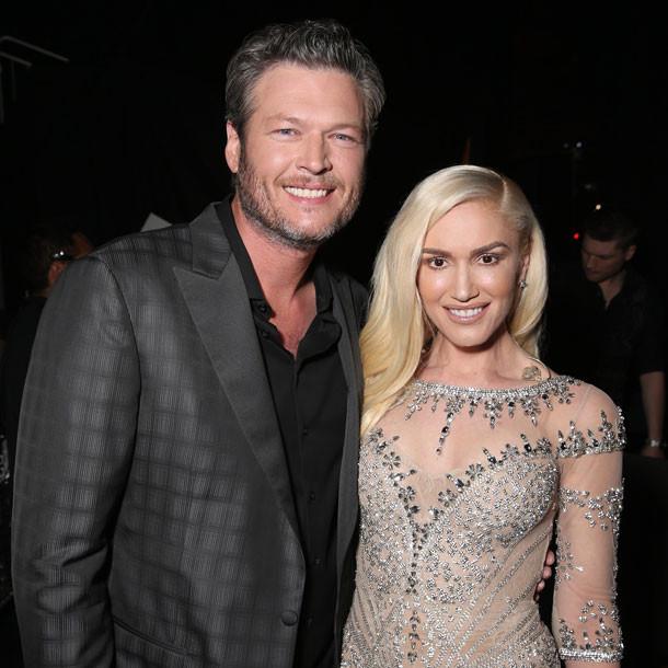 Gwen Stefani Hochzeitskleid  Gwen Stefani und Blake Shelton Hochzeit