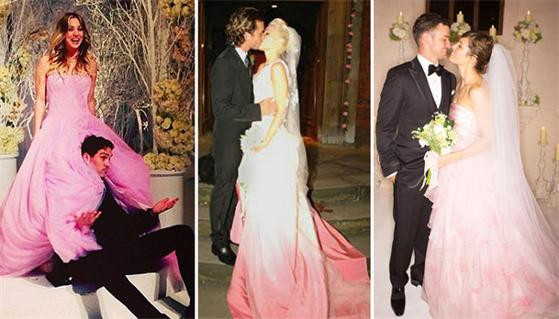 Gwen Stefani Hochzeitskleid  Hochzeitsmode