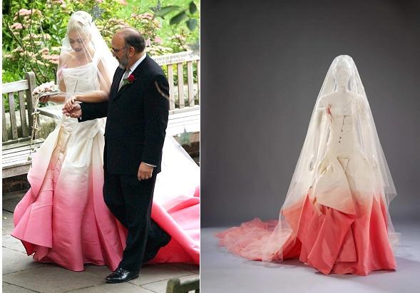 Gwen Stefani Hochzeitskleid  10 Hochzeitskleider der berühmten Bräute Alle TOP10