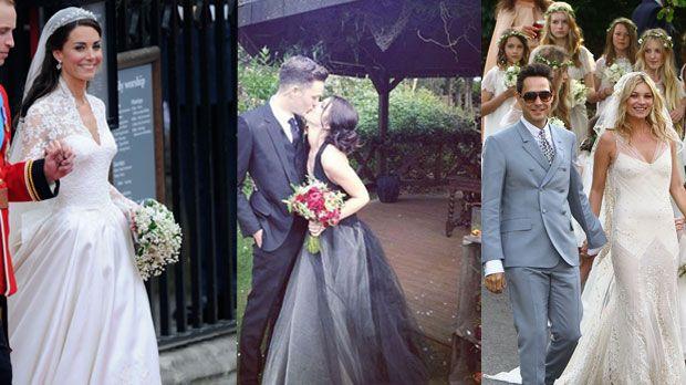 Gwen Stefani Hochzeitskleid  Jessica Biel Shenae Grimes Hochzeitskleider der Stars