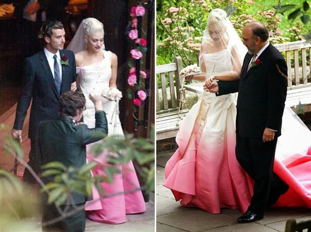 Gwen Stefani Hochzeitskleid  NE StyleSmart Celeb Style Gwen Stefani