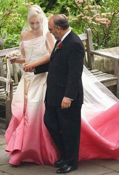 Gwen Stefani Hochzeitskleid  Singapore Weddings